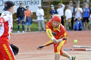 Kotijoukkueen ykkönen. Jani Moilasen kikat olivat liikaa Pöytyän Urheilijoille lauantai-iltana Ylivieskan Suvannolla.