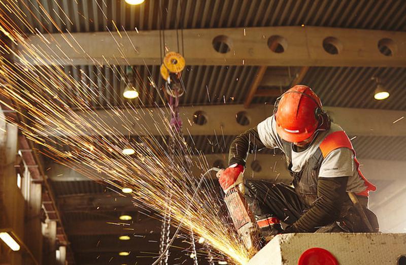 Nousukausi on edistänyt Lujabetonin rakennusteollisuutta.