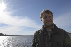 Pietarsaarelainen ammattikalastaja Sebastian Höglund on uuden yhtiön toimitusjohtaja.