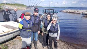 Haapajärven Siiponkoskella pidetty eräleiri keräsi nuoria läheltä ja kaukaa.