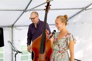 L.A. Duo esiintyi Havulan pihapiirissä järjestetyssä Havula Jazz & Bluesissa viime viikon perjantaina.