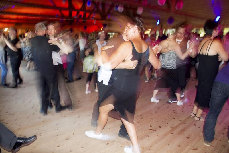 Tanssilavakulttuuri voi hyvin Kortesjärvellä.