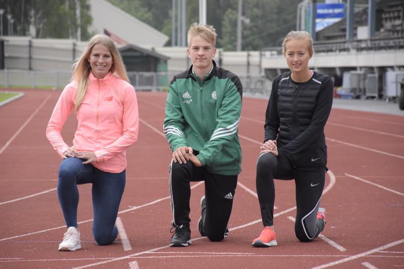 IF Drottin Jeanine Nygård, Alexander Björkgren ja Hanna Frostdahl osallistuvat SFI:n mestaruuskisoihin viikonloppuna.