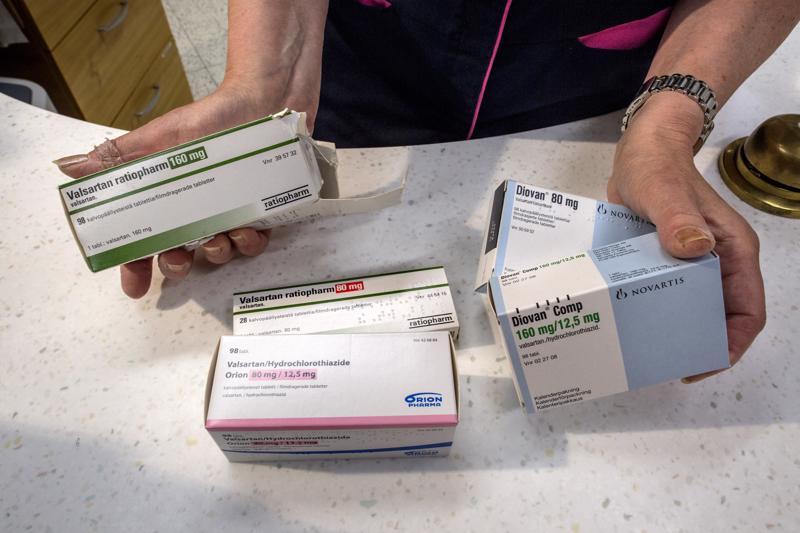 Verenpainelääkkeitä