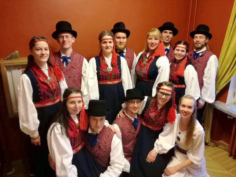 Segapidi juhlistaa Kaustisella Viron itsenäisyyttä.