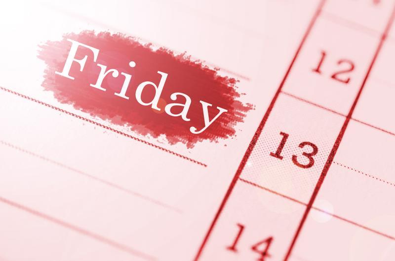 Joka vuosi 13. päivä sattuu perjantaille vähintään kerran ja enintään kolme kertaa, tänä vuonna huhtikuussa ja heinäkuussa.