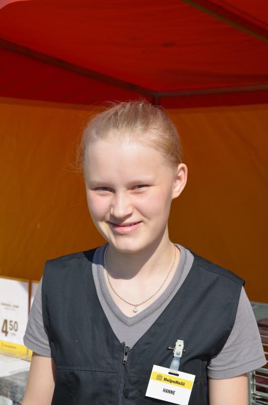 Hanne Häggman, Kannus- Ei ole.
