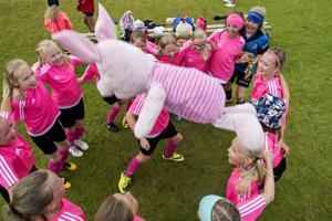 KPV:n ja LoVe:n yhteinen joukkue oli paras 10-vuotiaiden tyttöjen sarjassa.