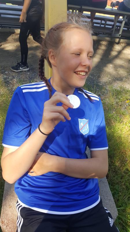 Jasmin Pääkön saldo PM-kisoissa oli vakuuttava: kultaa kuulasta, hopeaa moukarista ja keihäästä sekä pronssia kiekosta.