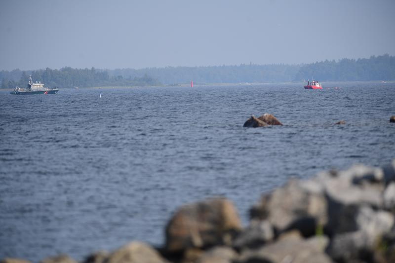 Onnettomuus tapahtui Pietarsaaren kalasataman edustalla.