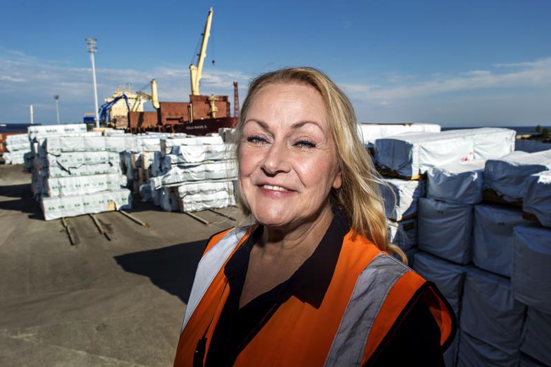 - Kun rakastaa työtään, niin sitä on ilo tehdä, sanoo Leena Rahja.