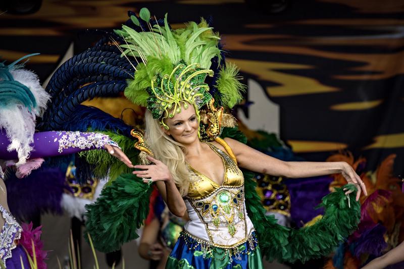 Useasti Helsinki Samba Carnavalissa palkintosijoille päässyt Samba el Gambo on tuttu vieras Kokkolan tapahtumissa.