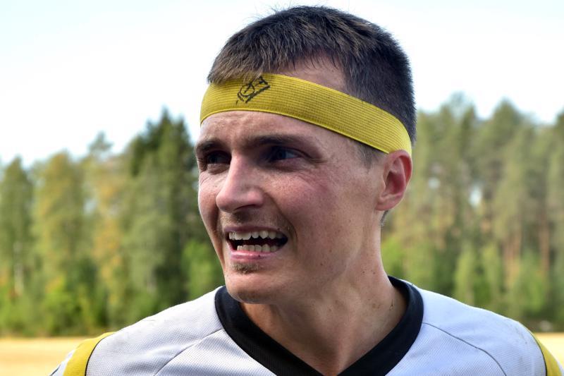 Ari-Pekka Lassila oli tyytyväinen lauantain suoritukseensa Kaustisen Perä-Varilan maastossa.