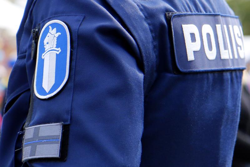 Jokilaaksojen poliisilla riitti tehtäviä lauantain vastaisena yönä. Arkistokuva.