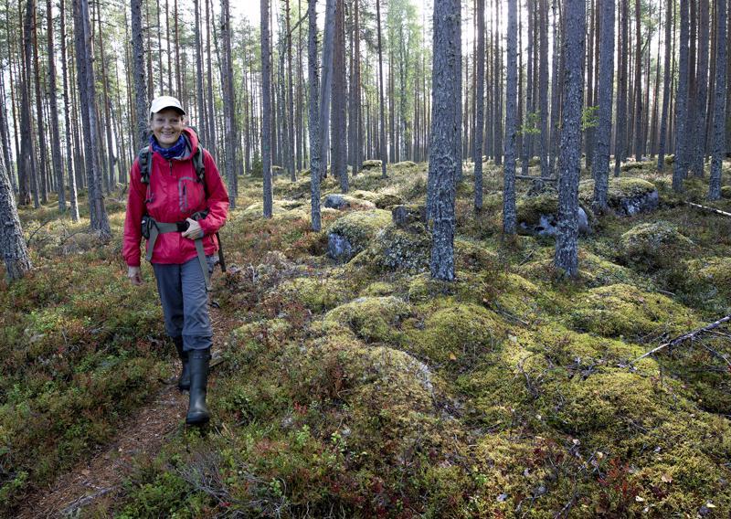 Tea Karvisen luontoillat ovat suosittuja. Kansallispuistot ovat hänelle pitkäaikainen intohimo.