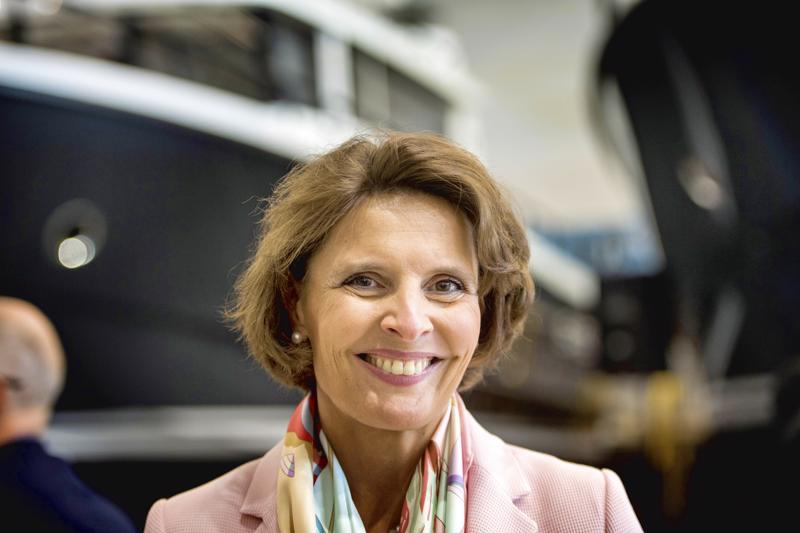 Liikenne- ja viestintäministeri Anne Berner vieraili Pietarsaaressa.