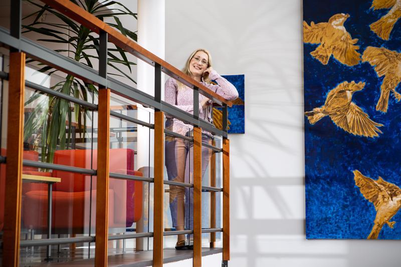 Monika von Bonsdorffin tutkimuspainotteinen tehtävä sijoittuu Kokkolan yliopistokeskus Chydeniukseen.