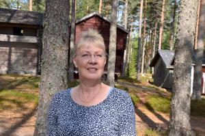 Sisäinen rauha. Irja Mäkitalo sanoo, että Lestijärvellä hän aistii sisäistä rauhaa.