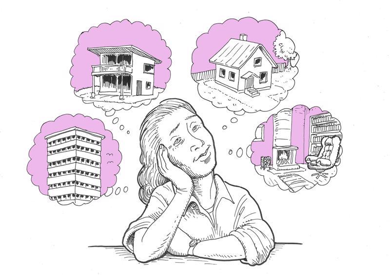 Kokkolassa on nyt ennätysmäärä asuntoja myytävänä.