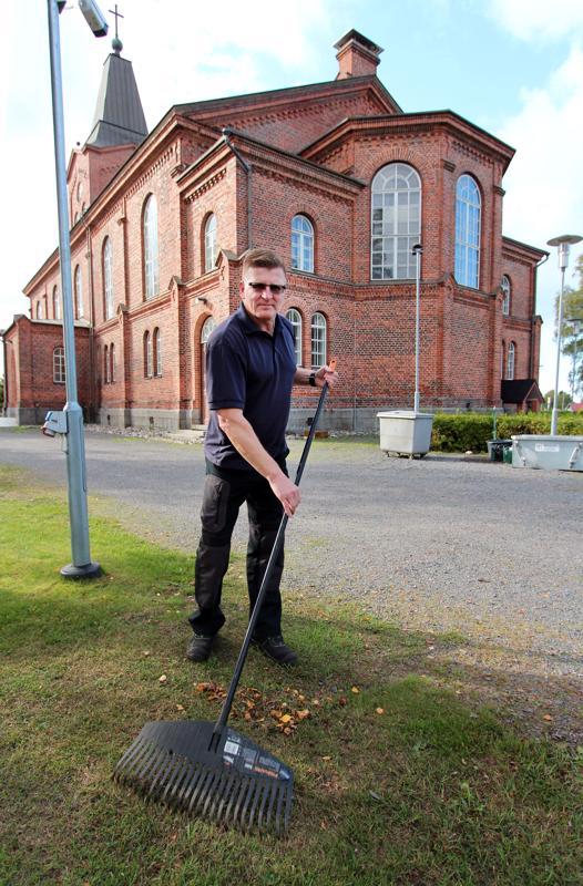 Juha Alakastarin yksi unelma toteutui, kun hänestä tuli Kalajoen seurakunnan seurakuntamestari.