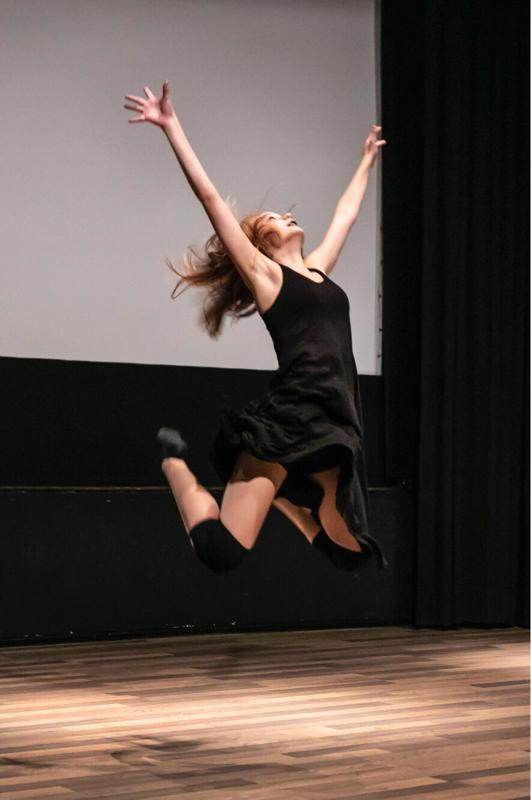 Saaga Kahelin tietää, että nyt oma tanssiteos on juuri sellainen kuin hän halusi.