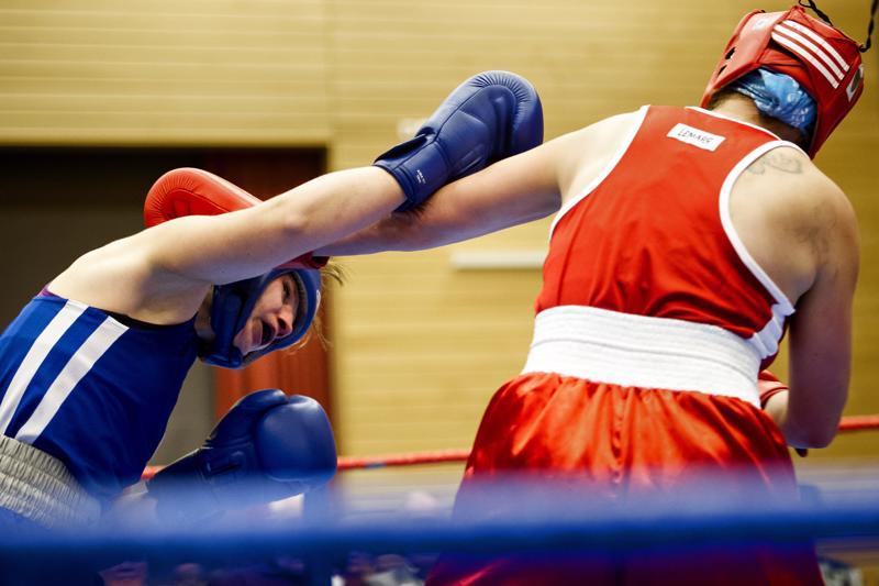Reiman kansallisten nyrkkeilyjen pitopaikaksi on vakiintunut Koivuhaan koulu.