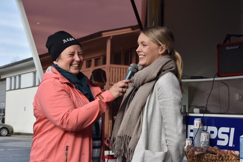 Suomen nopein nainen Anniina Kortetmaa oli mukana lauantaina Kannuksen Äijäpäivillä. Kortetmaata haastatteli Lestijokilaakso eläväksi -hankkeen Anja Takkunen.
