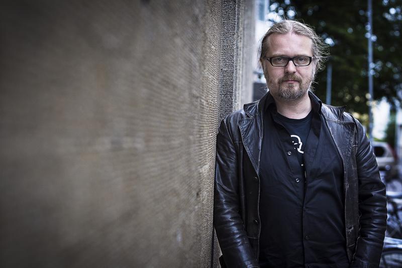 Marko Hautalaa on usein verrattu Stephen Kingiin. Hän kertoi viikonloppuna Leväluhdasta dekkarifestivaalien yleisölle.