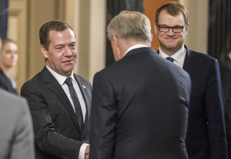 Venäjän pääministeri Dmitri Medvedev on vieraillut Suomessa usein ja oppinut tuntemaan suomalaisen kollegansa Juha Sipilän. Keskiviikkona pääministerit tapaavat taas.