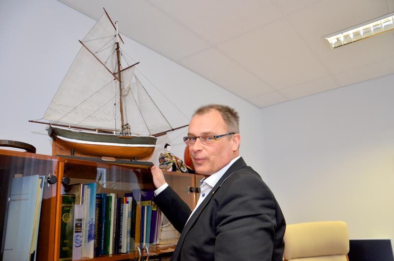Kalajoen kaupunginjohtaja Jukka Puoskari.