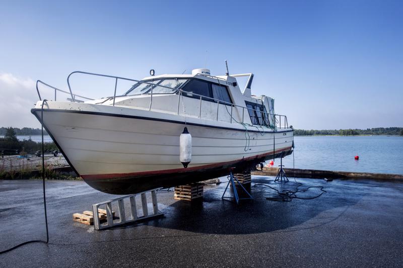 M/s Mässkär upposi Pietarsaaren edustalle elokuun alussa.
