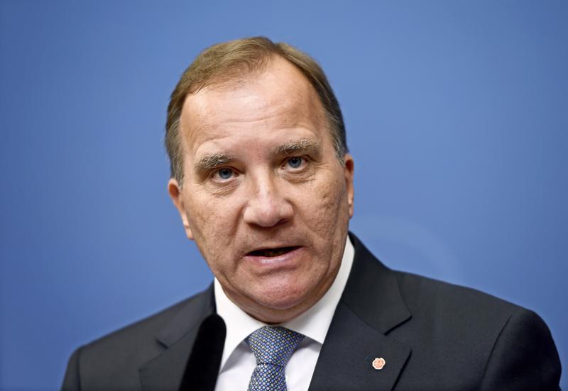 Sosiaalidemokraattien puheenjohtaja Stefan Löfven toimi Ruotsin pääministerinä vuosina 2014–2018.