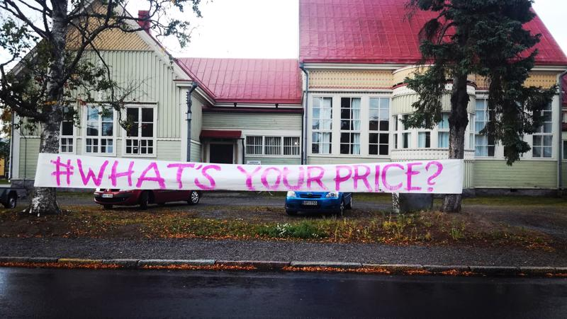 Toistakymmentä taiteilijaa on ilmoittautunut mukaan What's your price? -tapahtumaan, joka järjestetään Pohjoismaisella taidekoululla.