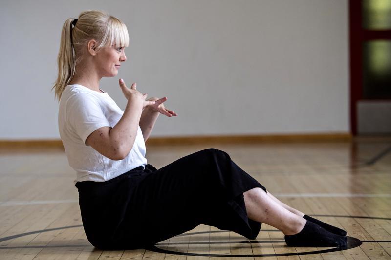 17-vuotias Miia-Riina Aho on harrastanut tanssia jo 14 vuotta.