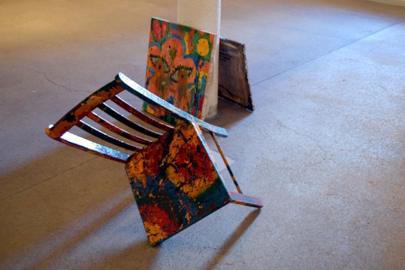 Osa installaatiosta nimeltään, Hemma hos Sundqvist (Sundqvistin kotona).