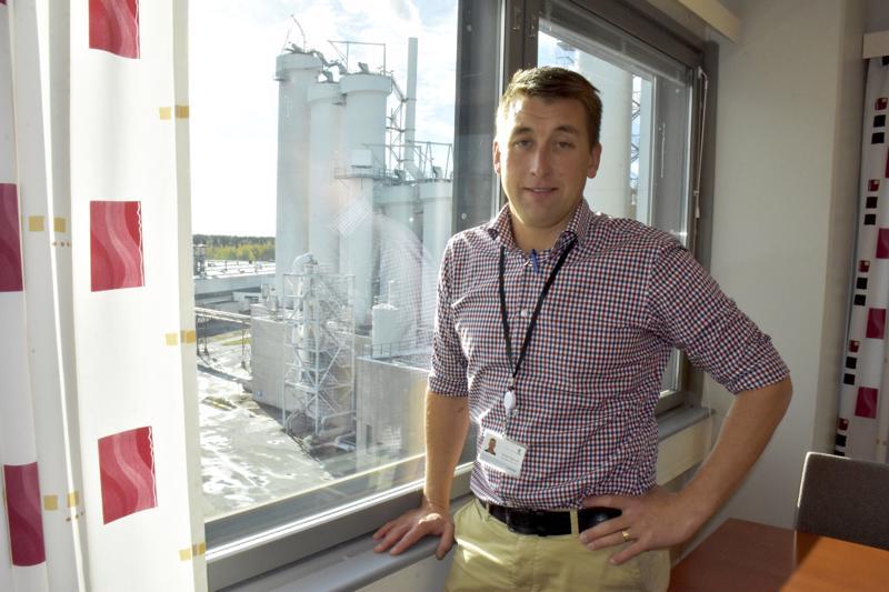 Simon Fageruddilla oli 12 vuoden aiempi työkokemus UPM:ltä, kun hän palasi Pietarsaaren sellutehtaalle ja sen johtoon.