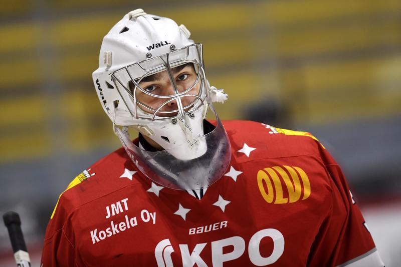 Justus Annunen on syksyllä pelannut Hermeksen lisäksi nuorten maajoukkueessa sekä Colorado Avalanchen harjoitusturnauksessa. Annusen tähtäin on nuorten MM-kisoissa.
