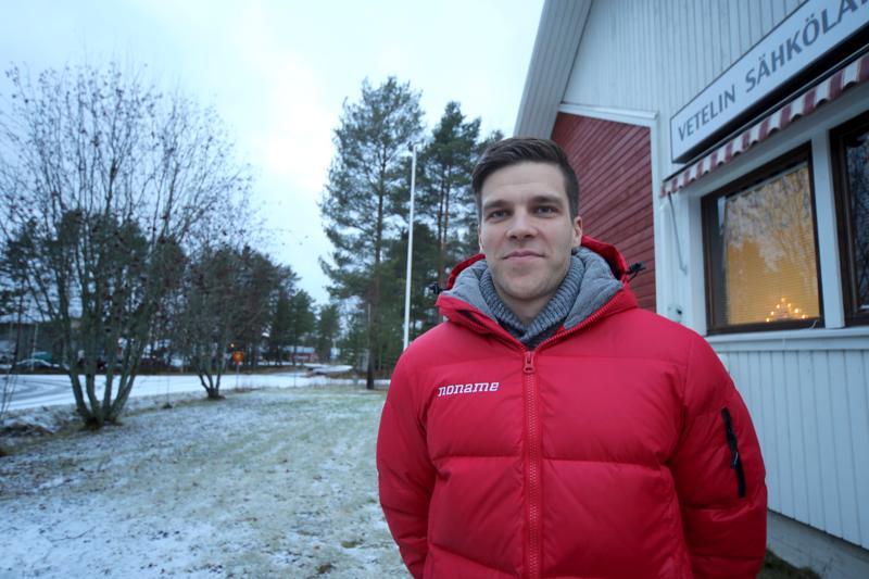 Kalle Lassila on lähtenyt mukaan hyvinvointivalmennukseen.