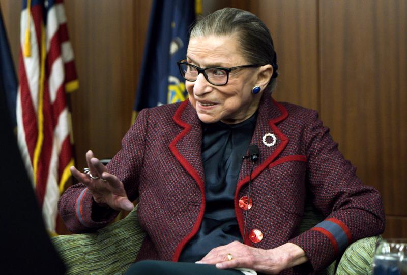 Yhdysvaltojen korkeimman oikeuden tuomari Ruth Bader Ginsburg kritisoi avoimesti Donald Trumpia tämän vaalikampanjan aikana. Hän on luvannut pysyä virassa seuraavat viisi vuotta.