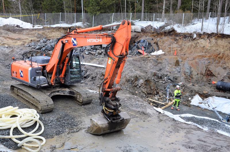 Perhon uuden jätevedenpuhdistamon rakentaminen Perhonjoen varteen aloitettiin keväällä 2018.