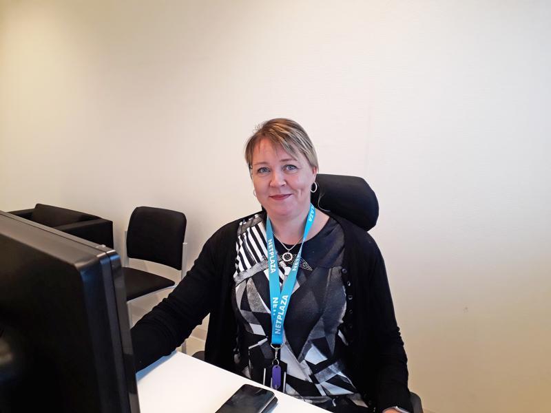 Netplaza Oy avasi tällä viikolla toimiston Nitekiin. Hanne Nivala vastaa valokuituliiketoiminnan kehittämisestä.