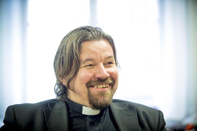 Kirkkoherra Kari Kanala.