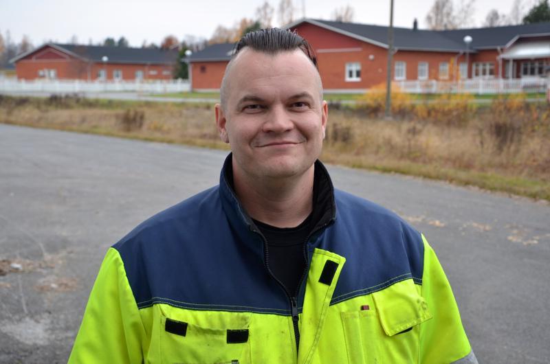 Markus Lahti on työskennellyt Halsuan kunnalla vuodesta 2011.