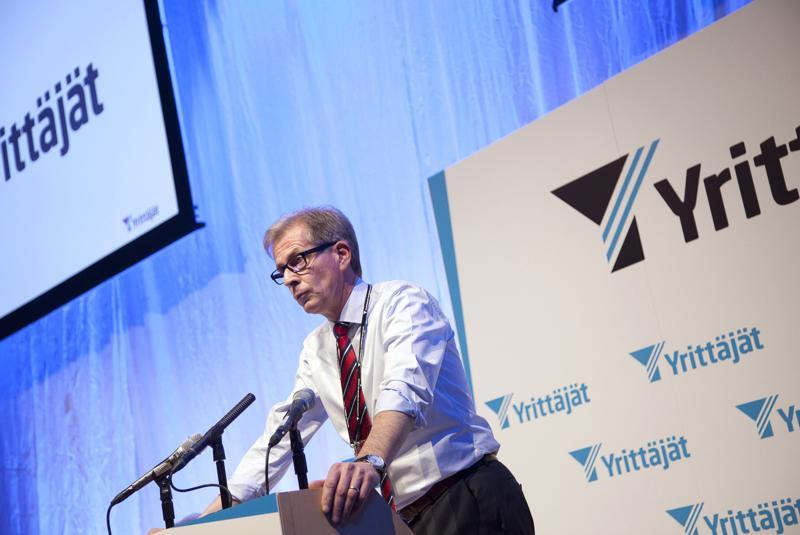 Jyrki Mäkynen on johtanut Suomen Yrittäjiä kaksi kahden vuoden pituista kautta ja hakee nyt kolmannelle kaudelle.