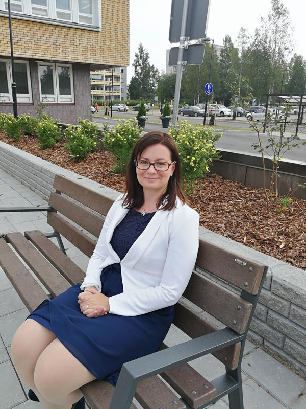 Kaupunginjohtaja Maria Sorvisto