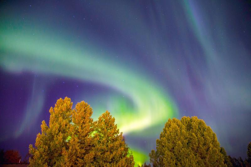 Kokkolassa taivaskin tunnusti vihreää, kun pari viikkoa sitten loimosivat taivaan tulet. Kokkolan Pallo-Veikot taistelee tänään suorasta noususta pääsarjaan.