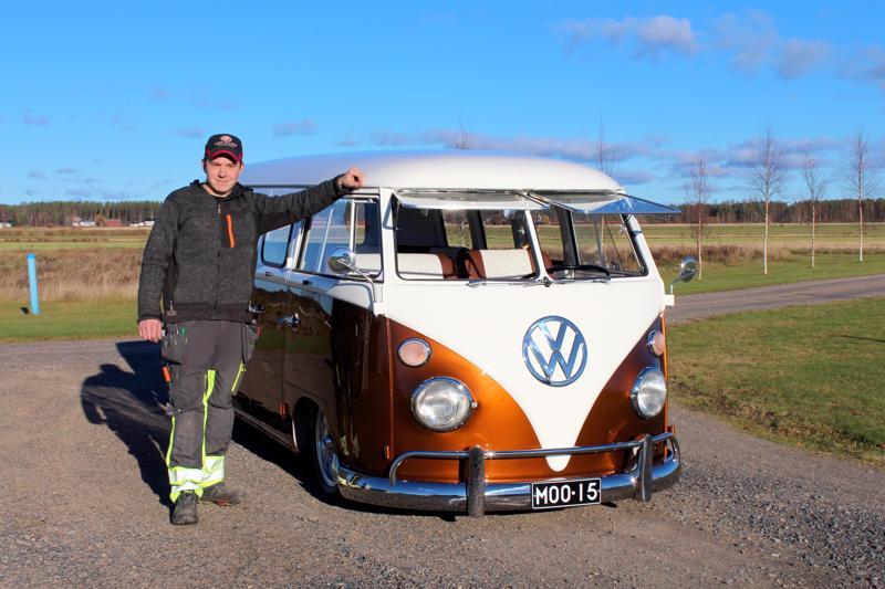 Tuomas Kalliokosken kunnostama Kleinbus vuodelta -67 niitti mainetta näyttelyissä jo ensimmäisenä kesänä.