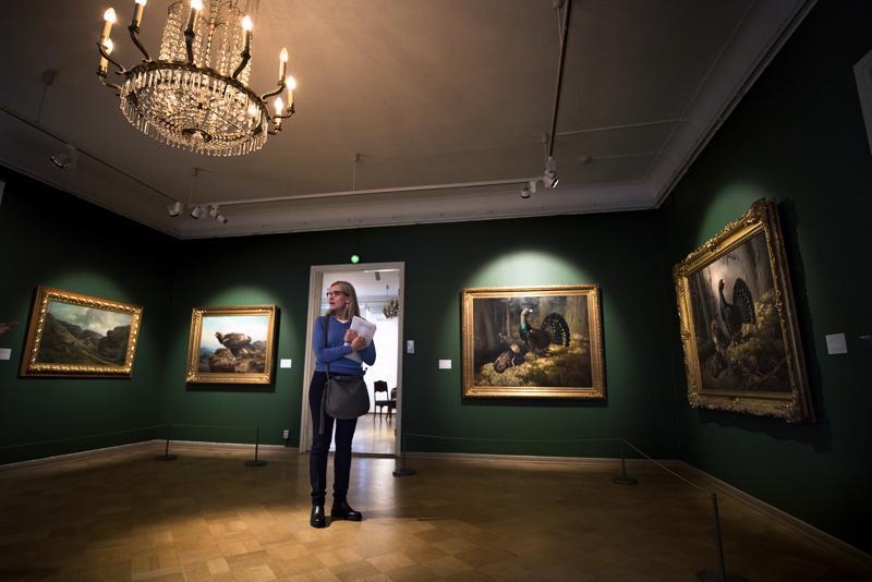 Wrightin veljekset kuvasivat lintuja, maisemia ja maalaiselämää. Näyttelyn kuraattori, Ateneumin amanuenssi Anne-Maria Pennonen valmisteli työryhmän kanssa näyttelyä 2,5 vuotta. Koko kansan suosikeiden lisäksi esillä on monia harvinaisuuksia yksityiskokoelmista.