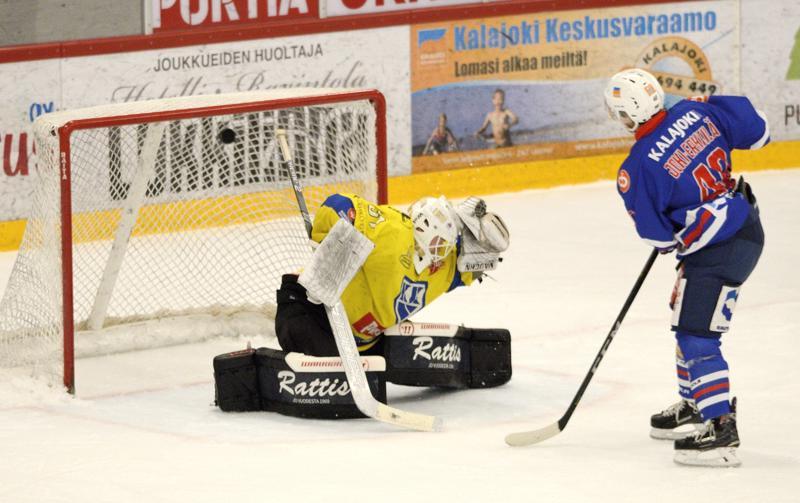 Juho Joki-Erkkilä onnistui voittolaukauskisassa.