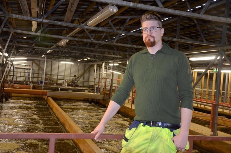 Nyt kuntien käsissä. Käyttömestari Janne Wennström sanoo, että siirtoviemärin rakentamisesta Kinnulasta Toholammille on tehty esiselvitys.